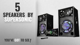 Top 10 Supersonic Speakers [2018]: Supersonic 2 x 15