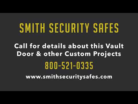 Smith Security Safes | Vault Door Used To Disguise Vault Room
