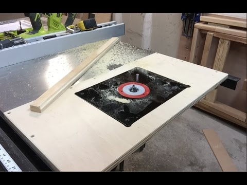 Table saw router extension youtube table saw router extension greentooth Choice Image