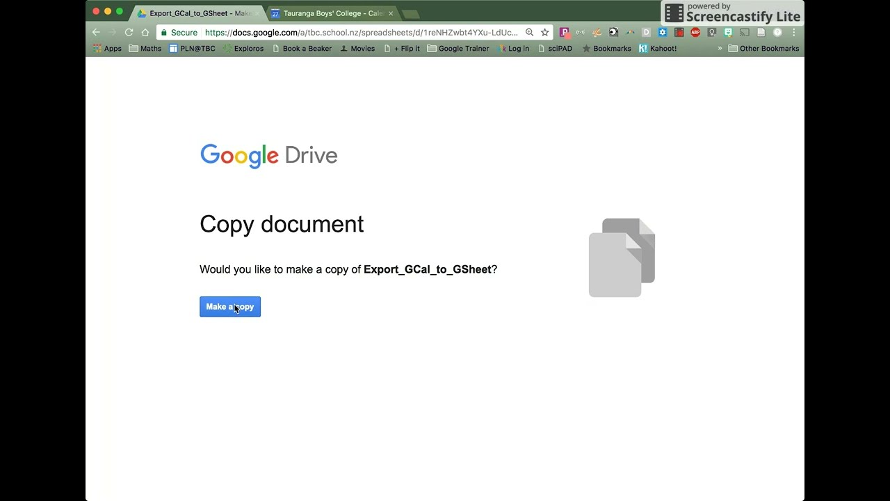 How To Export A Google Calendar To Google Sheets