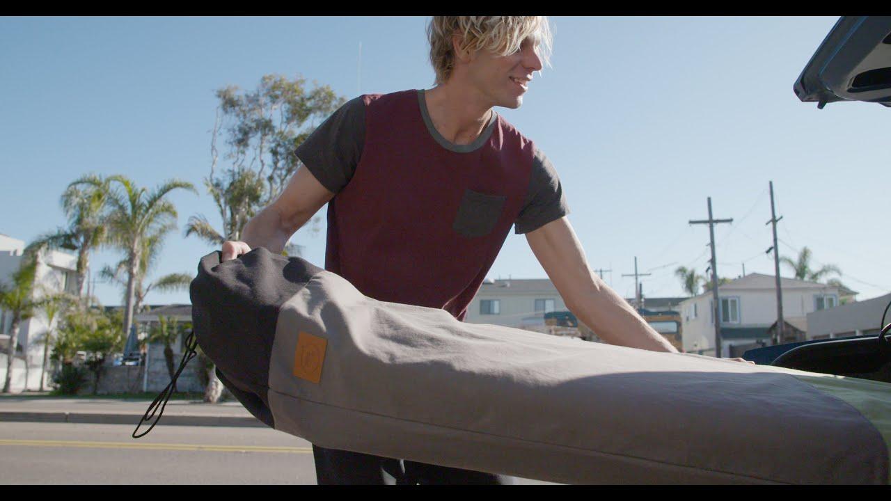Choose Size /& Color Ho Stevie Canvas Surfboard Bag Cover