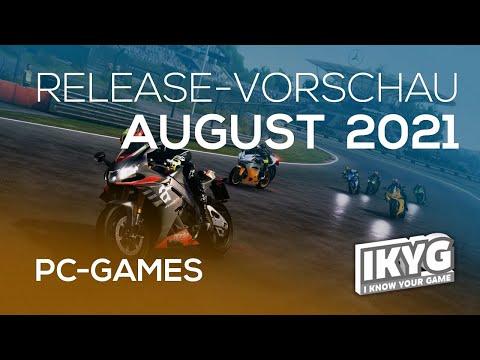 Games-Release-Vorschau - August 2021 - PC
