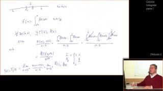 Analisi 1 - Teorema di Torricelli e Teorema fondamentale del calcolo integrale