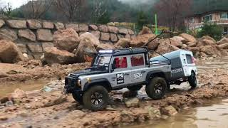 Video Traxxas TRX4 / Defender Pickup / Creek Trails download MP3, 3GP, MP4, WEBM, AVI, FLV April 2018