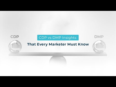 CDP vs DMP: Insights That Every Marketer Must Know