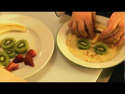 Cora Restaurant - Getting Kids To Eat Fruit Is Child's Play.