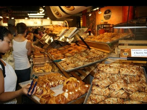 Food Shopping At St Lawrence Market Toronto.