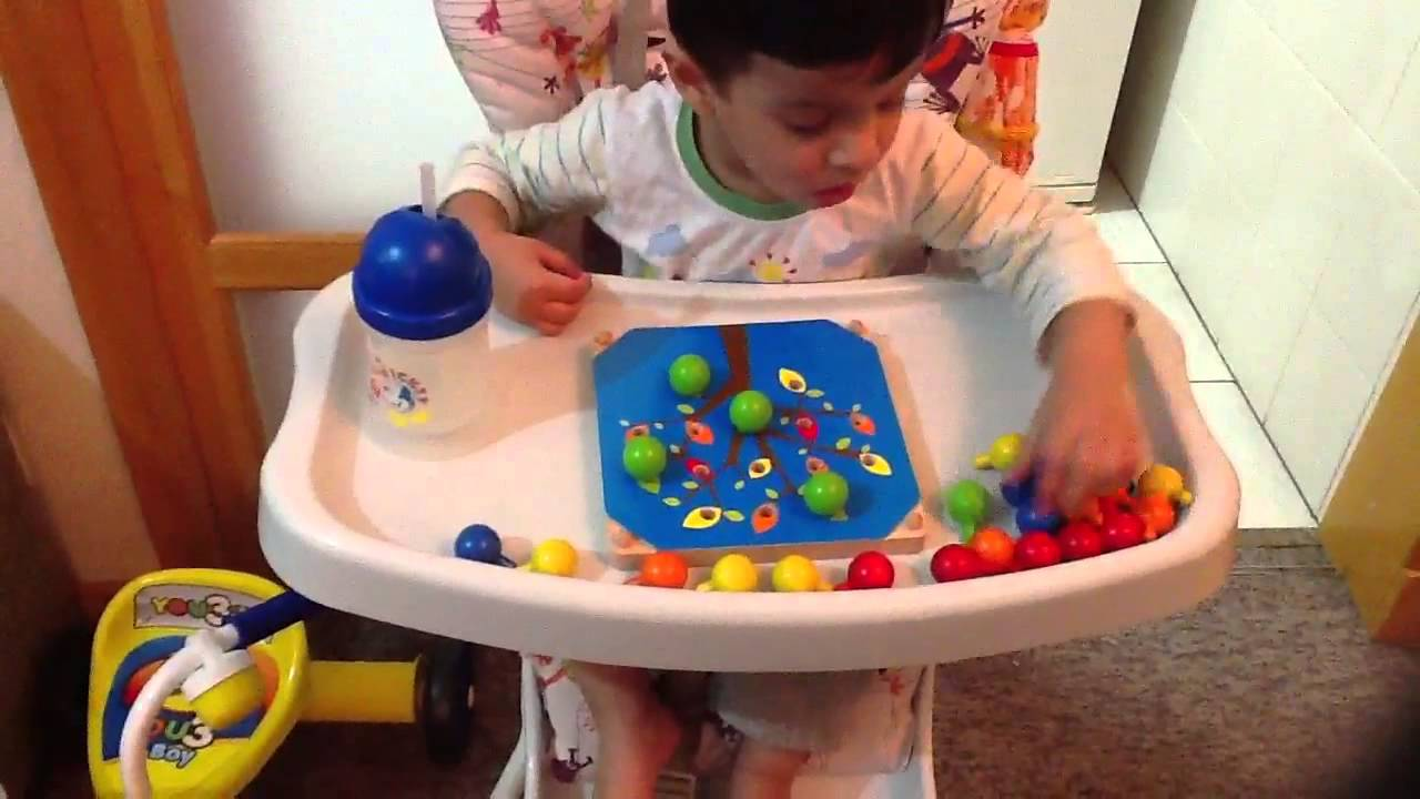 2 year old 25 months old child moksh plays with a for Crafts for 14 month old