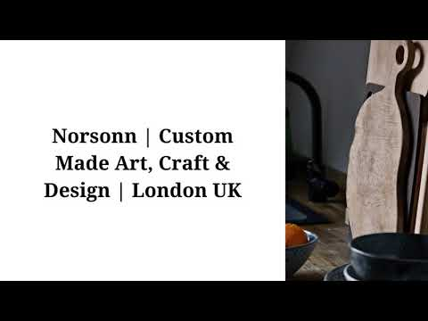 Norsonn | Custom Made Art, Photography, Craft,  Design , Furniture & Lighting London UK