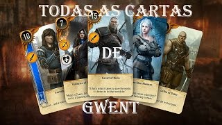 Gwent, Todas as cartas/All cards!!! The Witcher 3