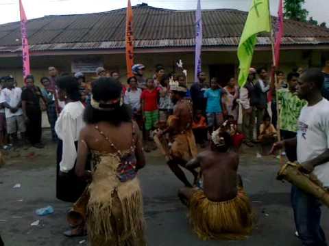 Cultural Carnival in Manokwari of West Papua