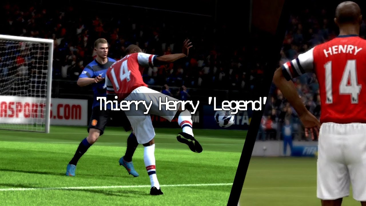 """Thierry Henry """"Legend"""" FIFA 13 Tribute"""