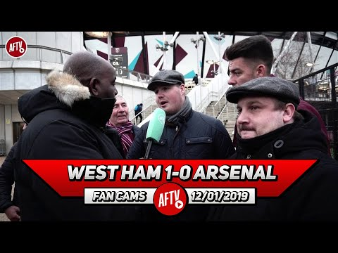 West Ham 1-0 Arsenal   Nasri Ran The Show! We Played You Off The Park! (Dom - West Ham Fan)