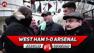 West Ham 1-0 Arsenal | Nasri Ran The Show! We Played You Off The Park! (Dom - West Ham Fan)