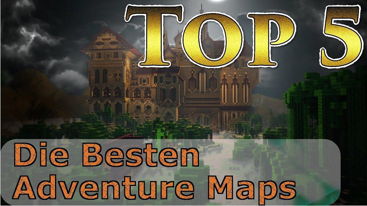 Top Die Besten Minecraft Adventure Maps TRG YouTube - Die besten maps fur minecraft