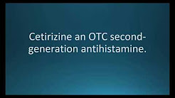 How to pronounce cetirizine (Zyrtec) (Memorizing Pharmacology Flashcard)