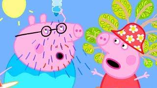 Peppa Pig in Hindi - Very Hot Day - Garmi ka Din - हिंदी Kahaniya - Hindi Cartoons for Kids
