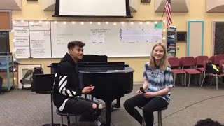 Lovely - Billie Eilish and Khalid Duet Cover ( By Carlito and Braelyn )