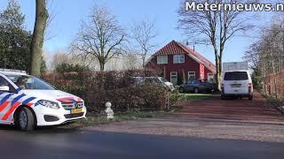 geweldadige woningoverval in Drouwenerveen