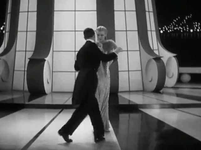 Fred Astaire Ginger Rogers Let S Face The Music And Dance Youtube