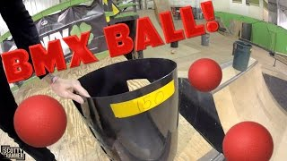 new skatepark game bmx ball