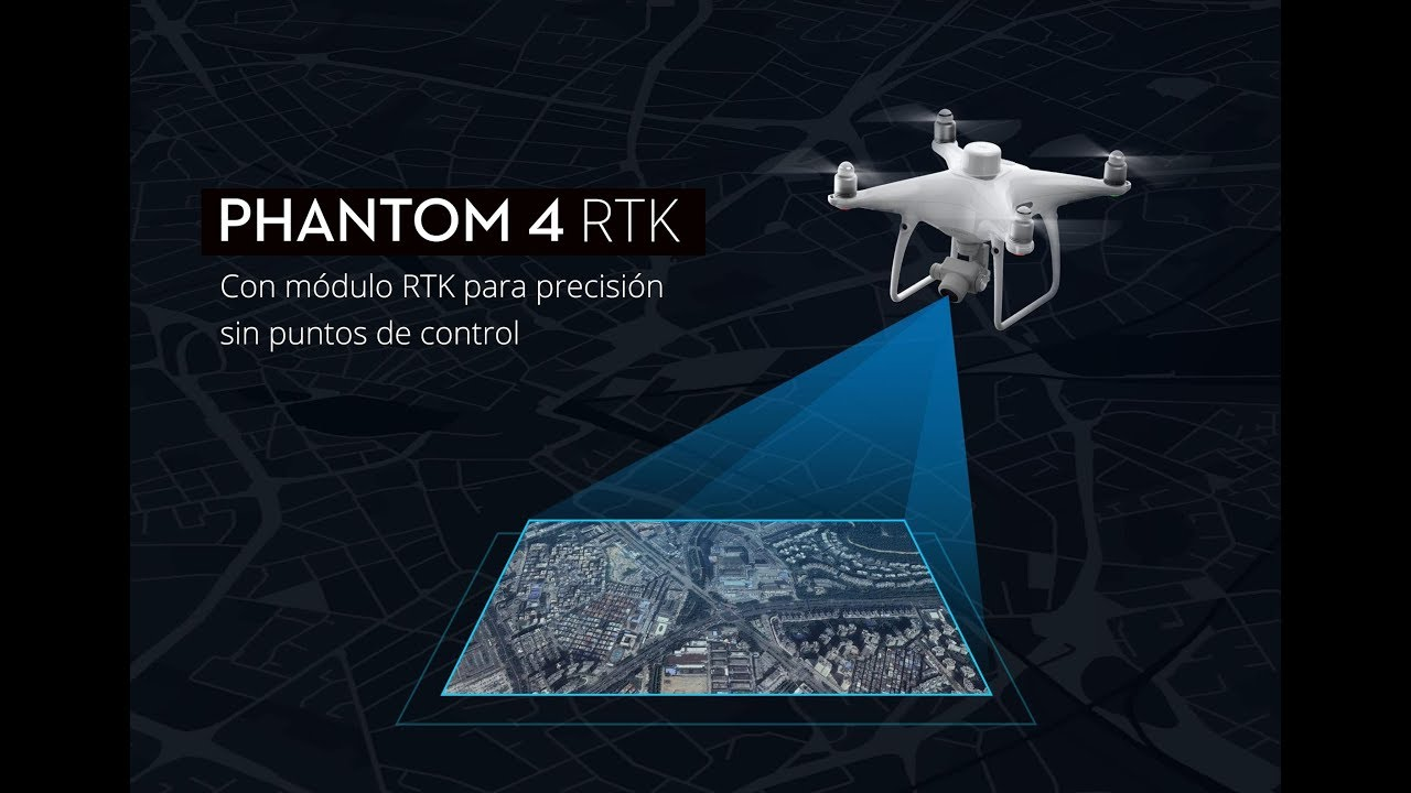 DJI PHANTOM 4 RTK . Configuración RTK - YouTube