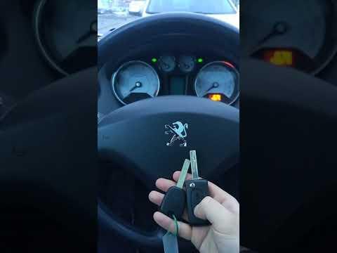 Привязка ключа Peugeout 308 2010