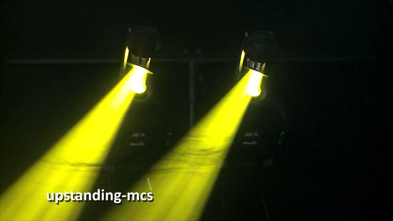 Pair Of Martin Mx 4 Dj Intel Light Scanners