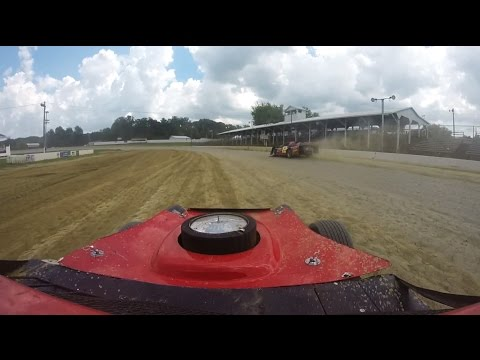 Kenny Wallace Dirt Racing Experience - Brownstown Speedway