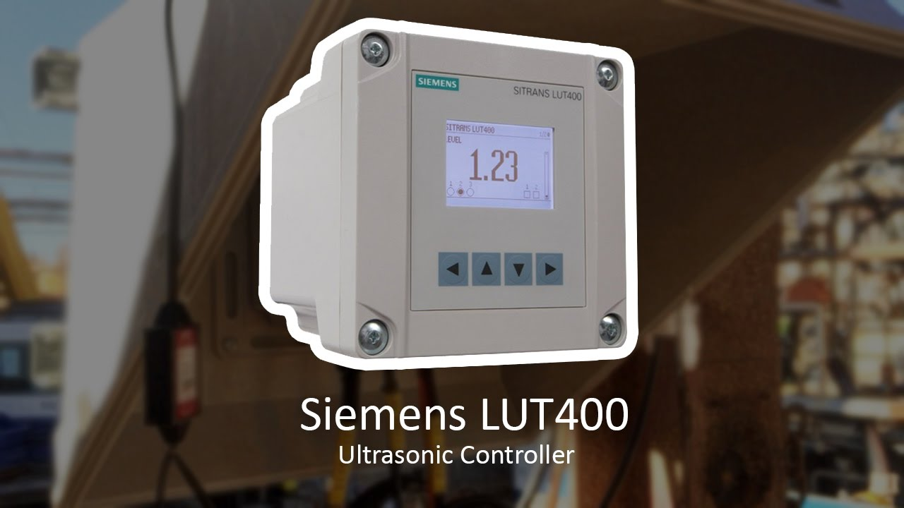1421218 Siemens LUT420 Level Transmitter/Controller with Remote Mount  Display – 100-230 VAC