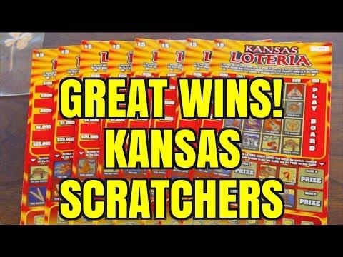 GREAT WINS ON KANSAS LOTERIA $5 SCRATCHERS!!!