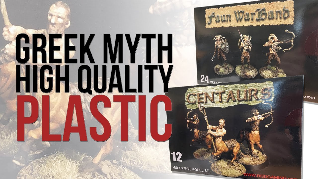 Centaurs and Faun Warbands | RGD Gaming | Unboxing