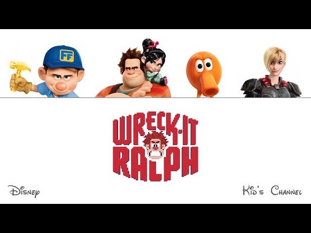 WRECK IT RALPH - Finger Family - Daddy Finger - Nursery Rhyme with Lyrics - Karaoke