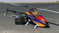 Alan Szabo Jr. ALIGN Trex 700X test flight in Dubai 2/21/2019