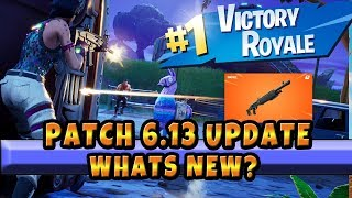 New Fortnite Patch 6.31 Whats New? What are the Changes? Buff And Nerf to Shotguns : Gifting System