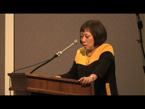 U.S. Representative Colleen Hanabusa speaks about rail August, 30.2017