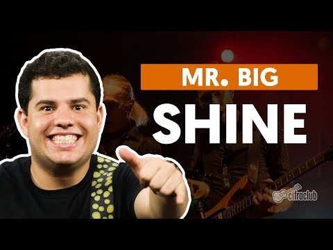 SHINE - Mr. Big (aula de guitarra)