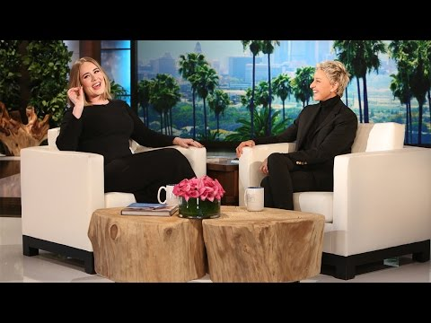 Adele Gets Candid With Ellen