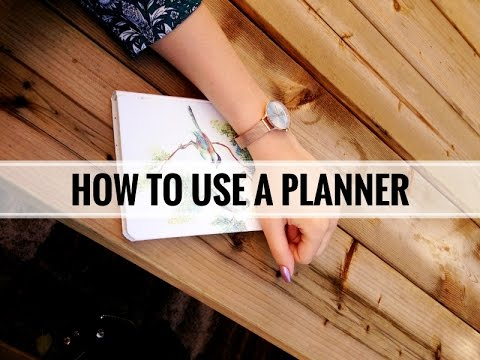 How to Use a Planner: Easy & Inexpensive