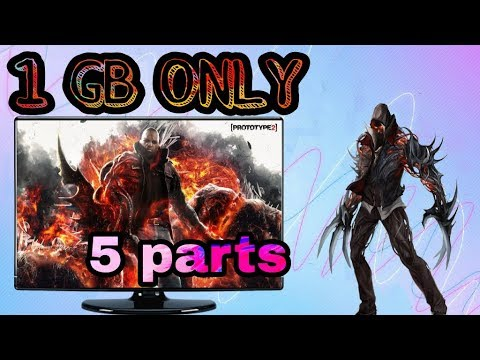 Prototype 2 Game Download For Pc    Highly Compressed    In Parts    ROHIT GAMING