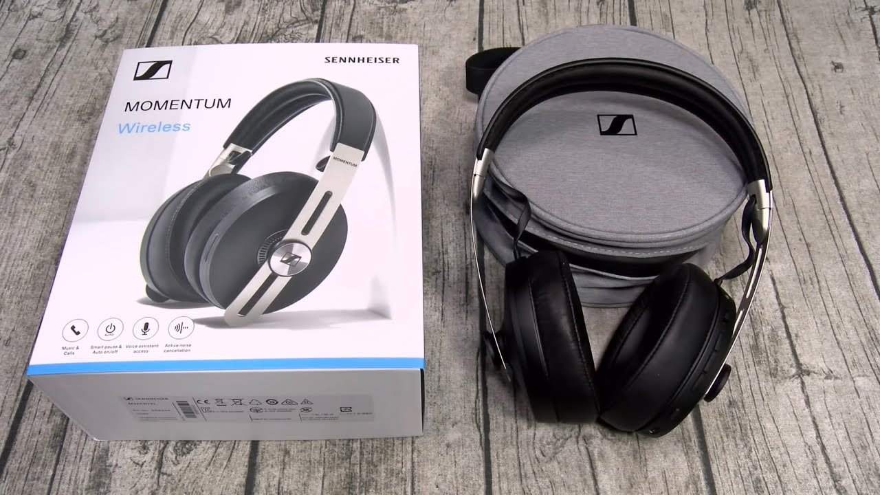 New Sennheiser Momentum 3 - Wireless Noise Cancelling Headphones - YouTube