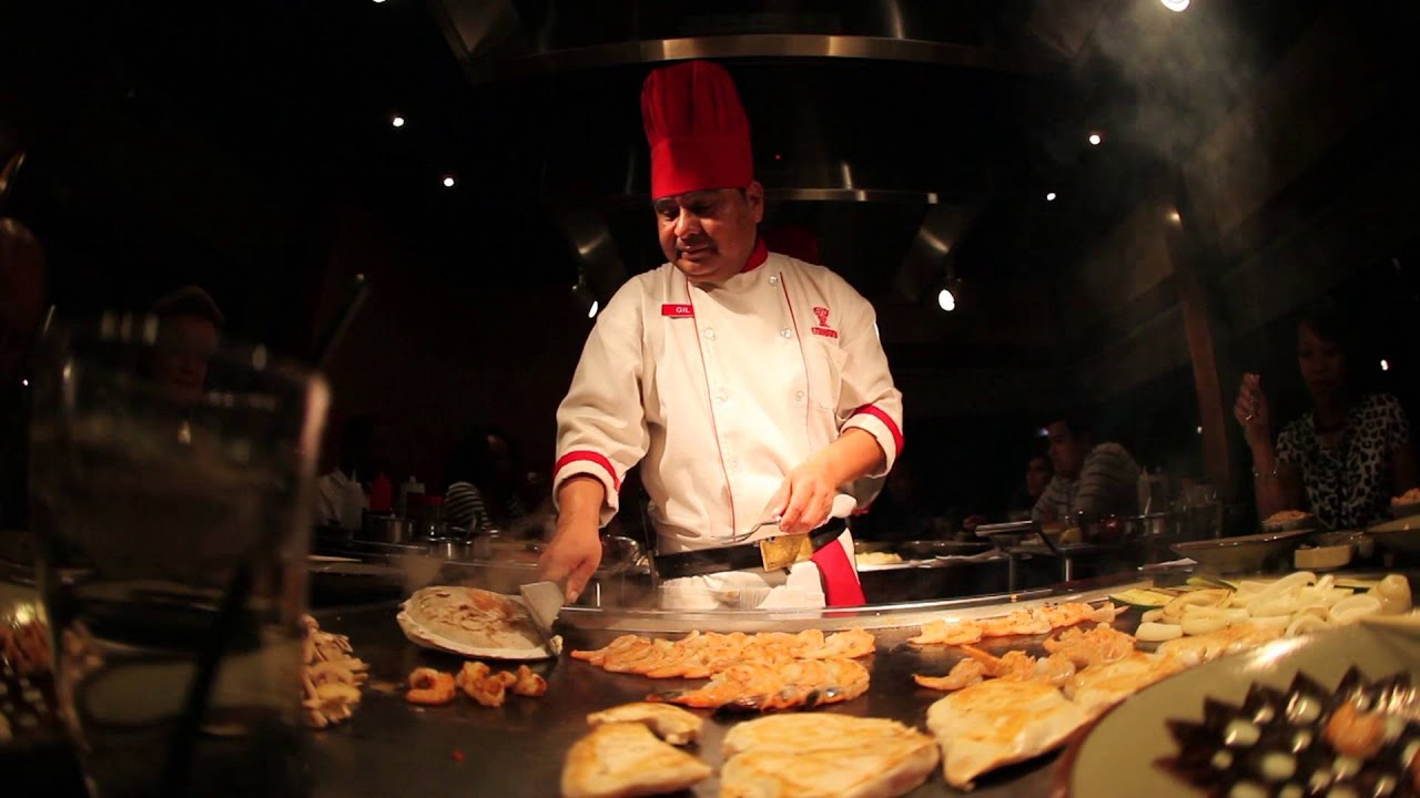 HIBACHI Chef tricks  YouTube
