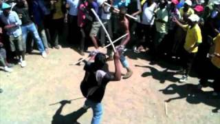The World: Intonga - Stick Fighting in South Africa