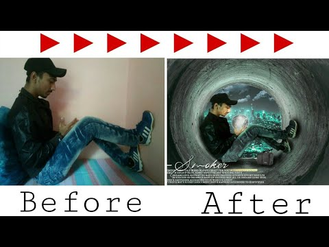 Moon in hand photo editing in photoshop   complete tutorial in hindi urdu thumbnail