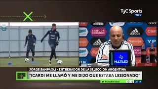 Sampaoli quiere juntar a Lo Celso con Messi
