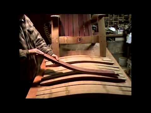 barrel stave adirondack chair plans portable chairs argos 3 1 mp4 youtube