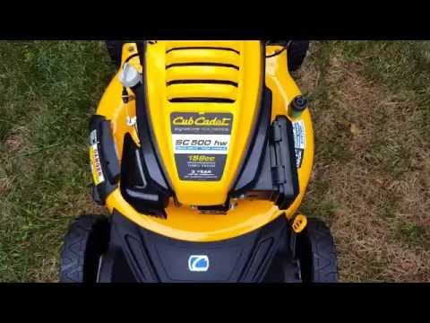 Repeat Cub Cadet lawn mower blade and tune by Scott Gerz