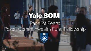 Panel of Peers: Pozen-Commonwealth Fund Fellowship