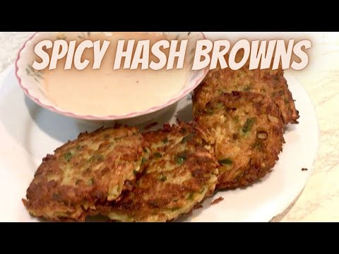 Tasty & easy spicy hash browns