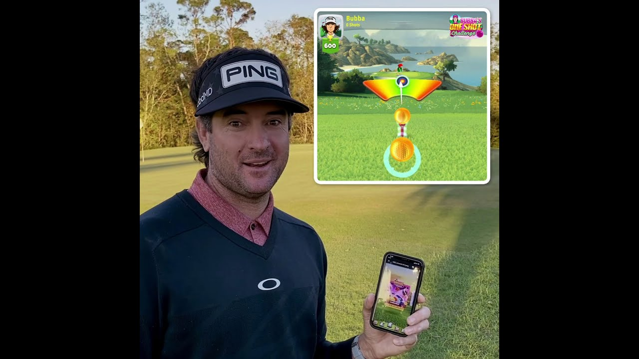 WARNER BROS. GAMES AND PLAYDEMIC PARTNER WITH PROFESSIONAL GOLFER BUBBA WATSON